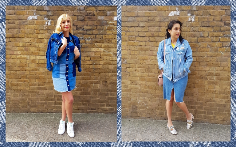 Double denim pair